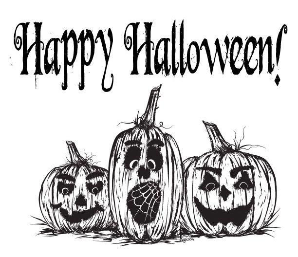 Free Printable Halloween Jack O Lantern Coloring Page Halloween