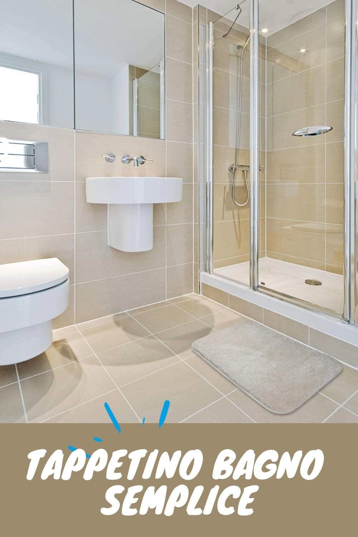 tappetino bagno semplice