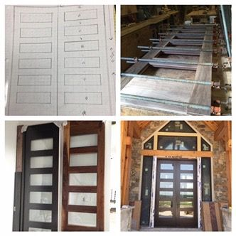 Custom 10 Foot Tall Wood Doors With Clear Glass Door Installation Wood Doors Doors