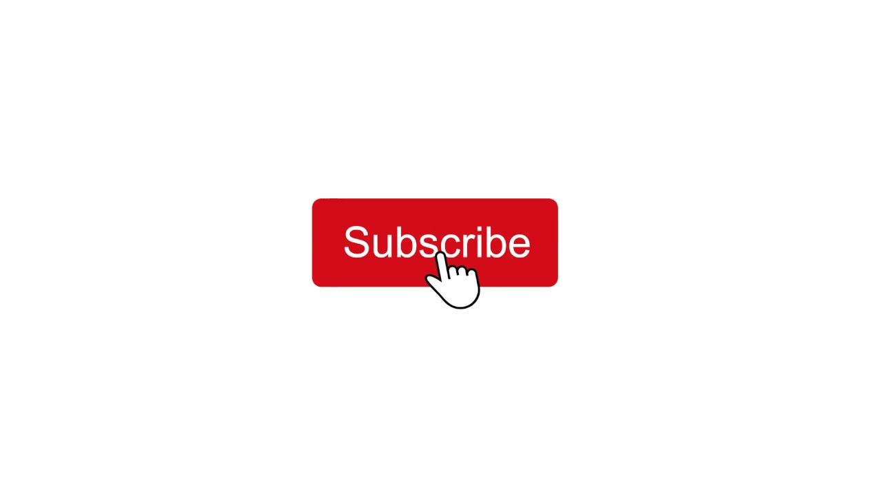 Youtube Subscribe Click Button Animation Notify Bell Like Share