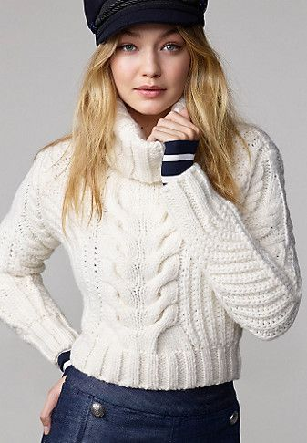 9229f109 Roll Neck Sweater Gigi Hadid | Outfits in 2019 | Gigi hadid tommy ...