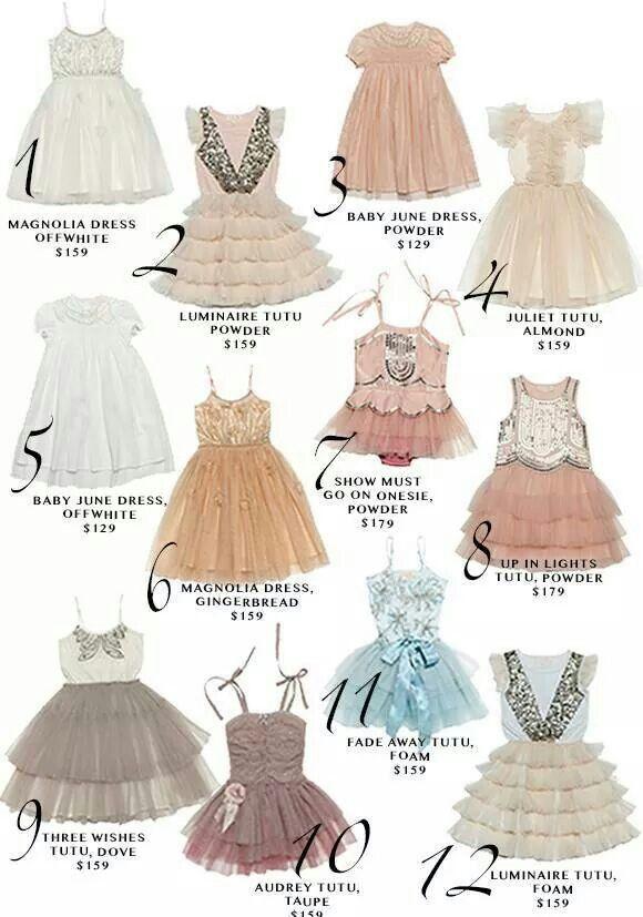 169a354619e7a Tutu du monde Pretty Little Dress, Little Girl Dresses, Little Girl  Fashion, Pretty