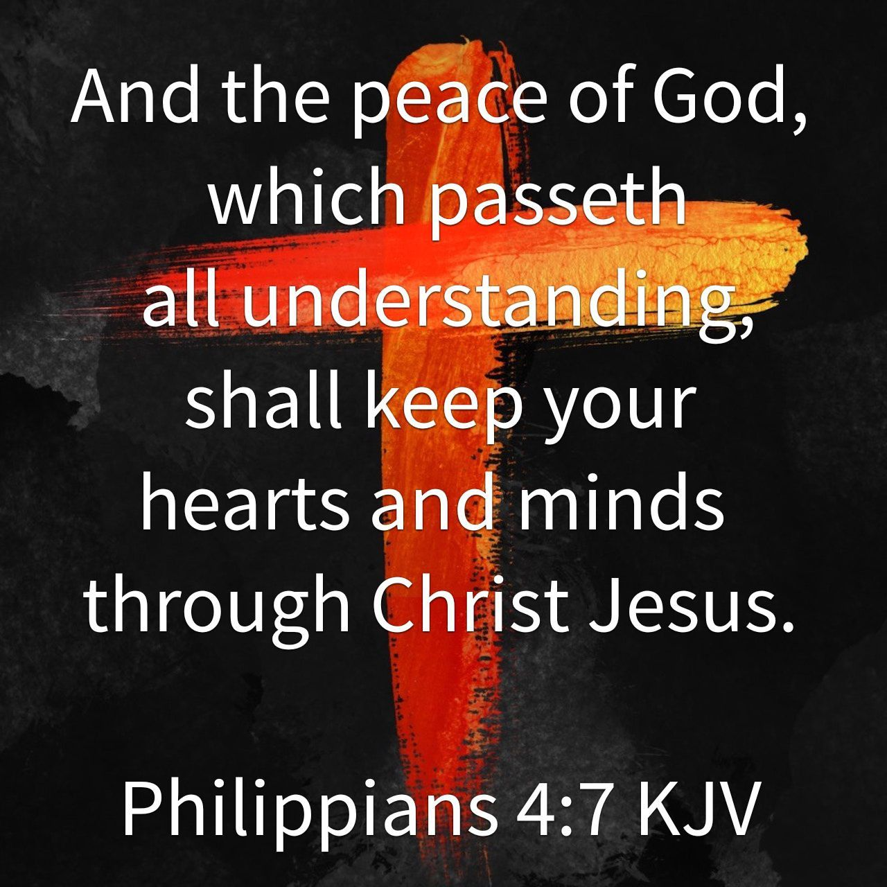 And the peace of God, which passeth all understanding, shall keep your hearts and minds through Christ Jesu… | Peace of god, Words of  encouragement, Positive quotes