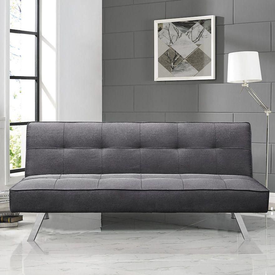 Serta Corey Convertible Futon Sofa Bed in 2019   Products   Futon ...