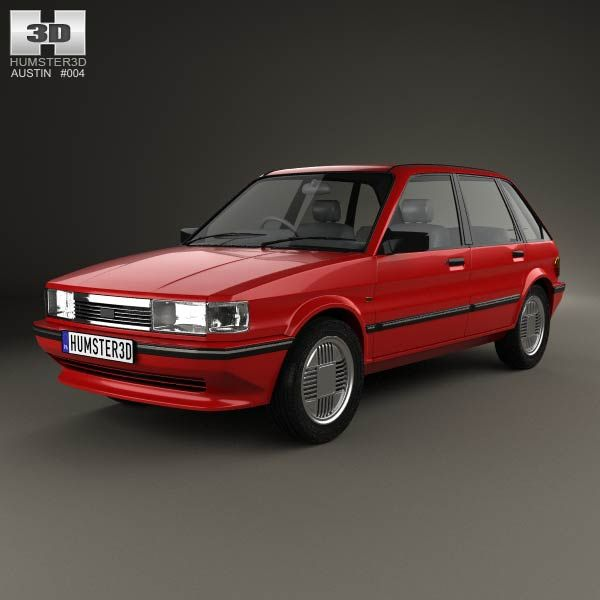 Austin Maestro 1983 3d model from humster3d.com. Price: $75