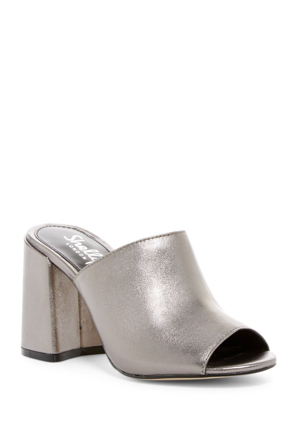 Need these Pewter Shellys London Calico Mules