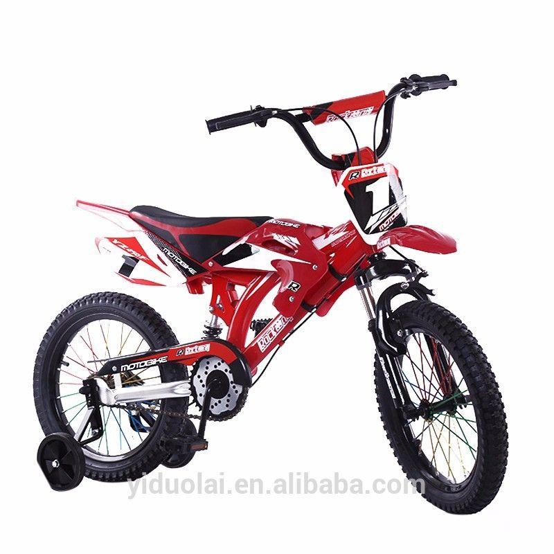 Moto Design Kids Bikes Cool Design Children Bicycle 12 Inch