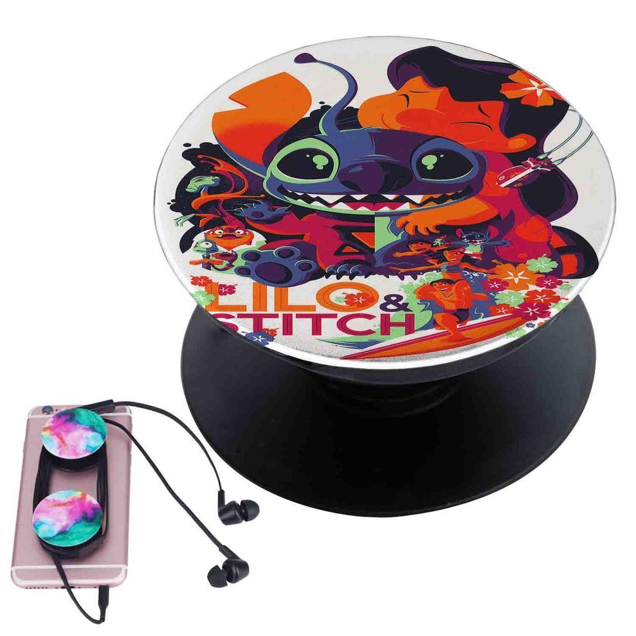 Disney lilo _ stitch custom popsocket pop out grip stand