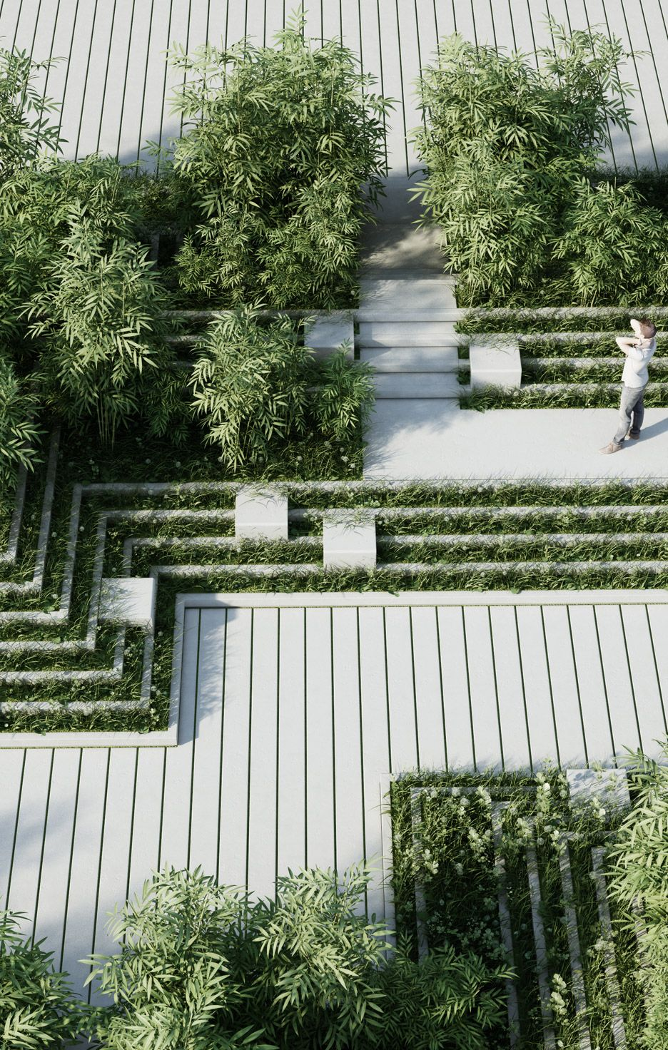 Magic Breeze Landscape Design by Penda | Jardin ...