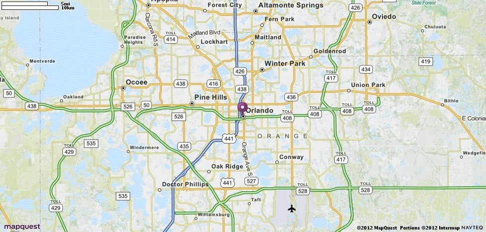 Mapquest Florida Map.Orlando Fl Map Mapquest Favorite Places Spaces Driving