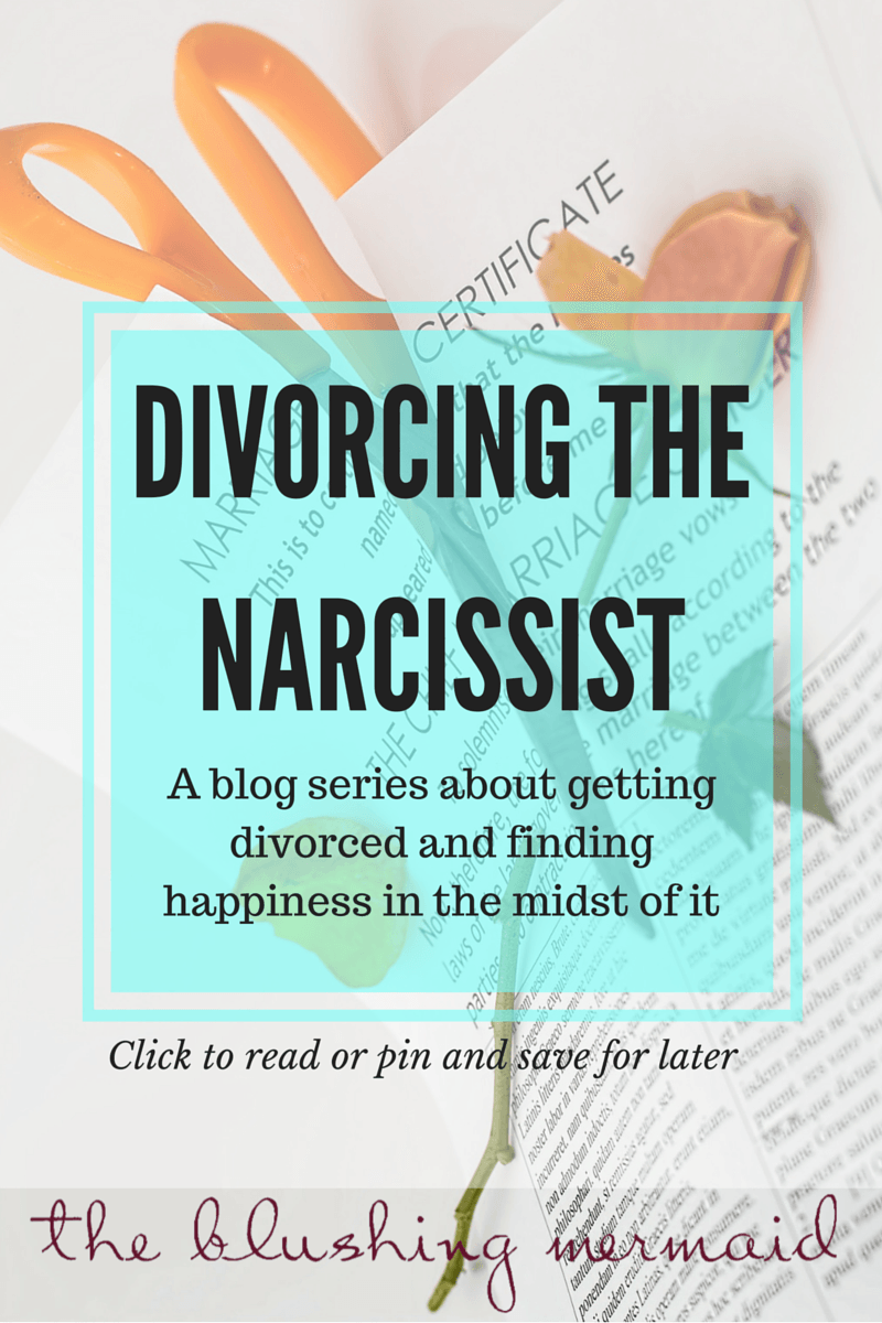 How to tell my narcissistic husband i want a divorce