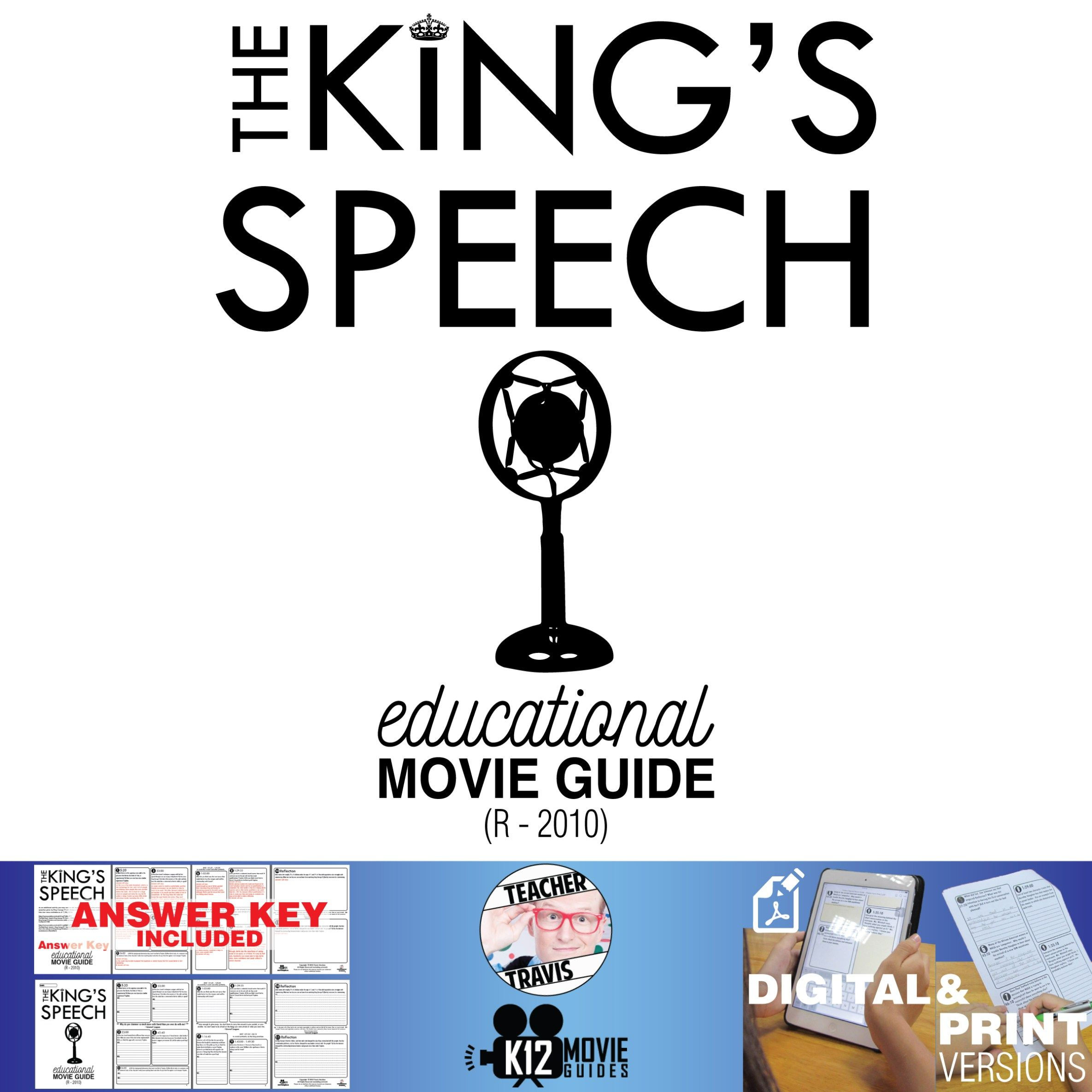 The King S Speech Movie Guide