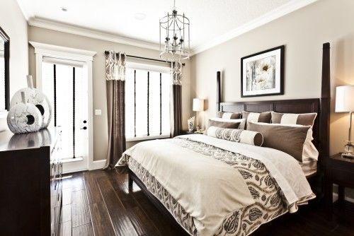 Brown And Cream Bedroom Pin Your Home
