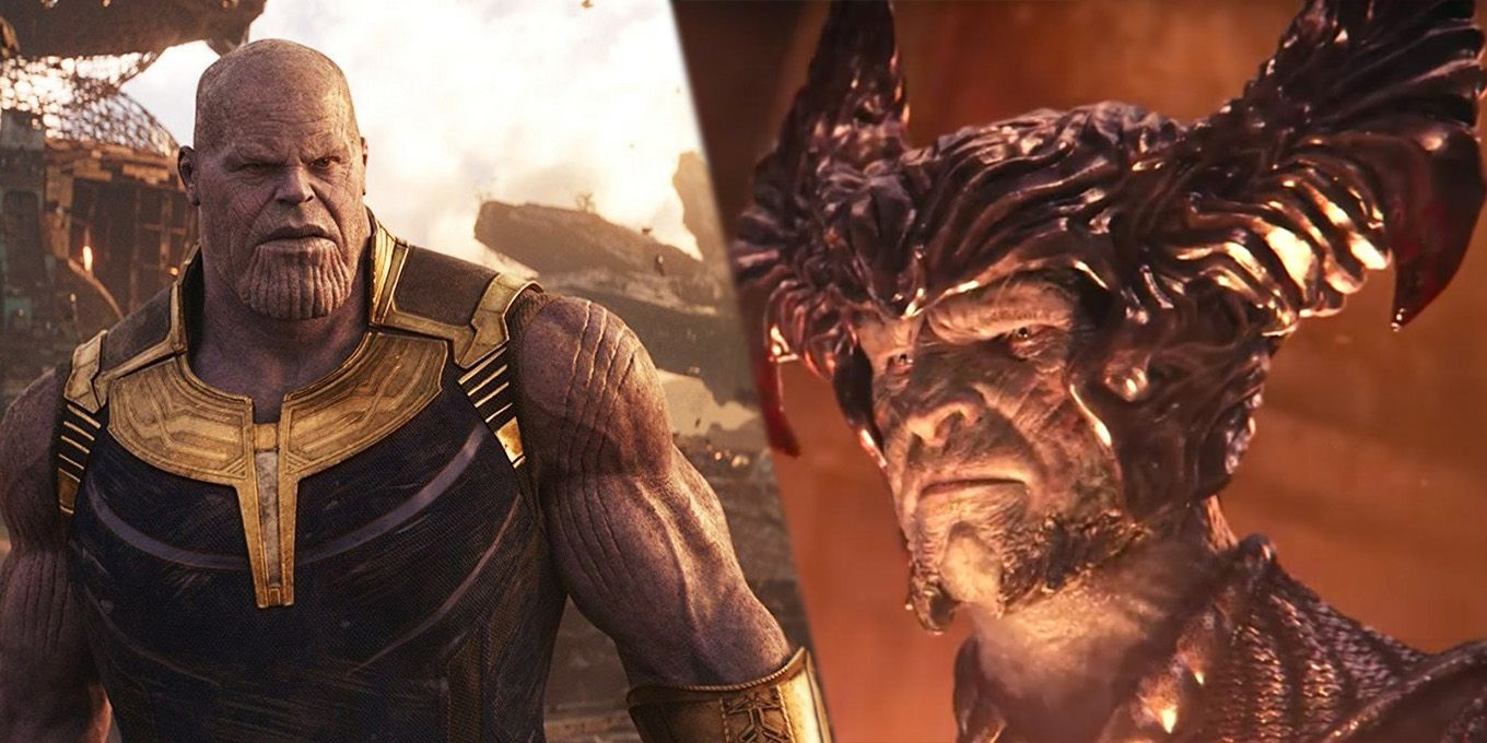 Thanos vs. Steppenwolf - Avengers: Infinity War shows us what held Justice  League back   Justice league, Avengers, Infinity war
