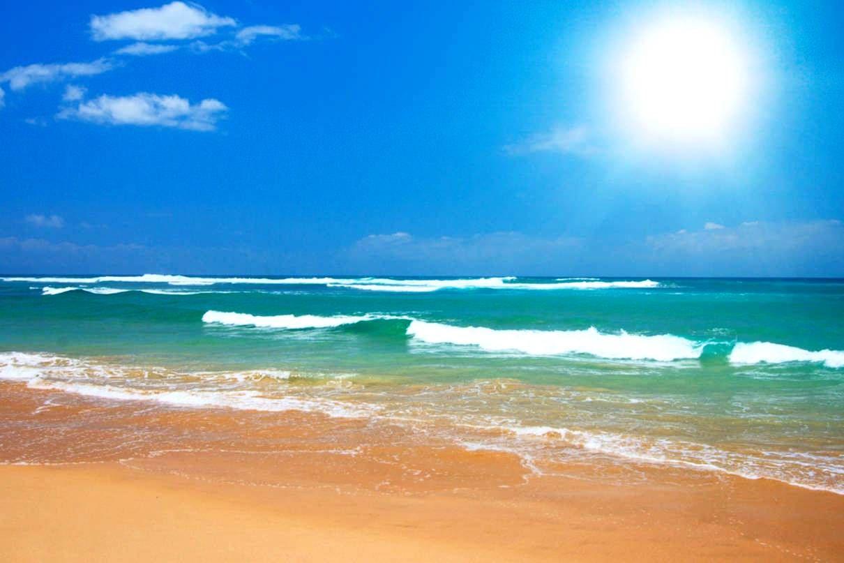 free desktop wallpaper beach scenes sunny beach photos free desktop