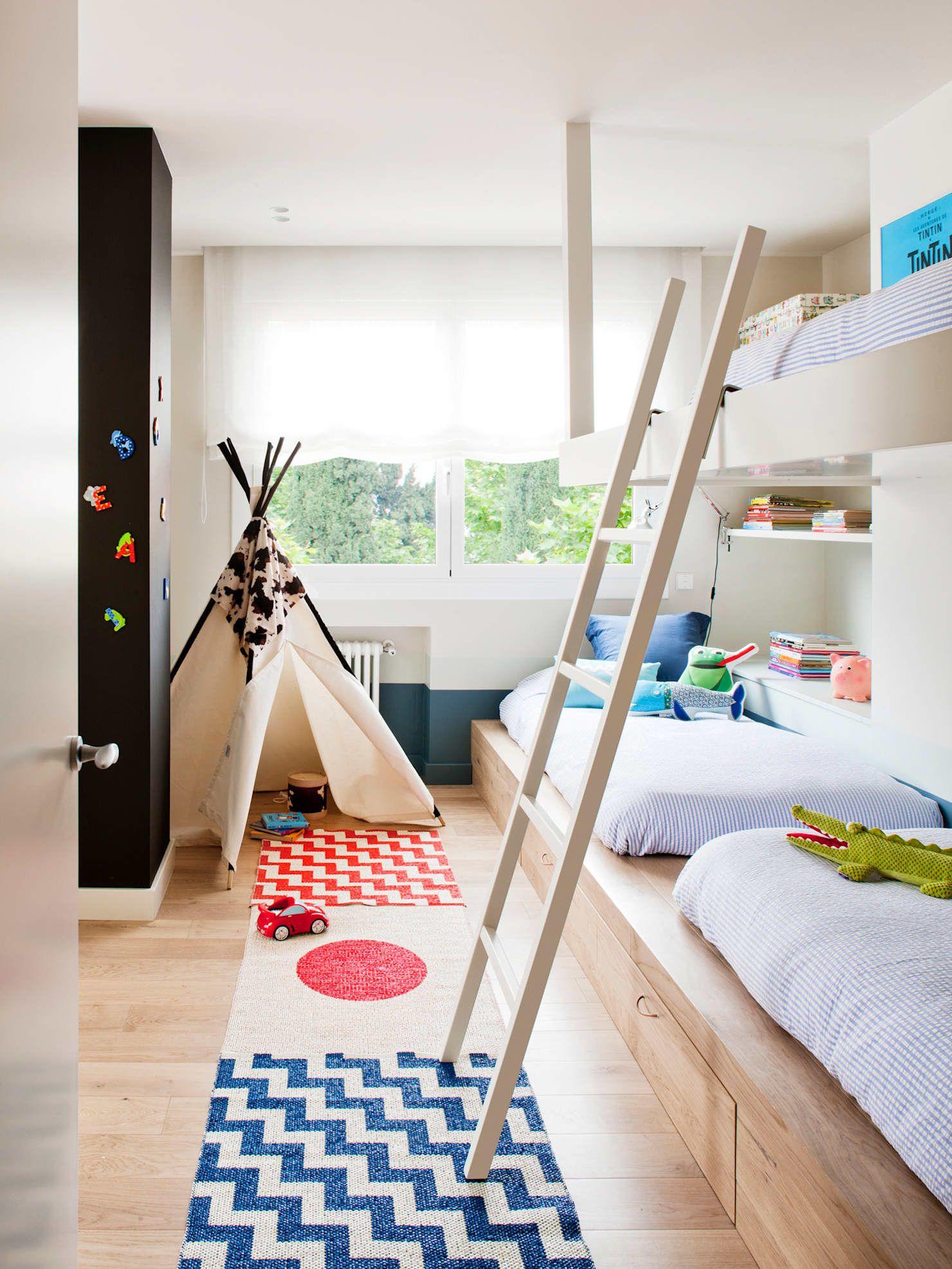 Dormitorio Infantil Habitaciones Juveniles De Estilo De A Emotional Living