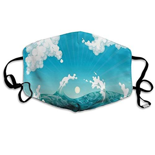 Japanese Traditional Painted Weave Dust Mask Outdoor Fashion Dust Mask Dust Mask Beauty Outdoor Running Mask Washable And Reusable With Adjustable Ear Loops Masks20200415