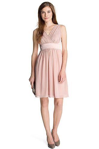 37d2e323fc83 Esprit Robe chiffon, ceinture satin CHF 159,90   Dresses Skirts ...