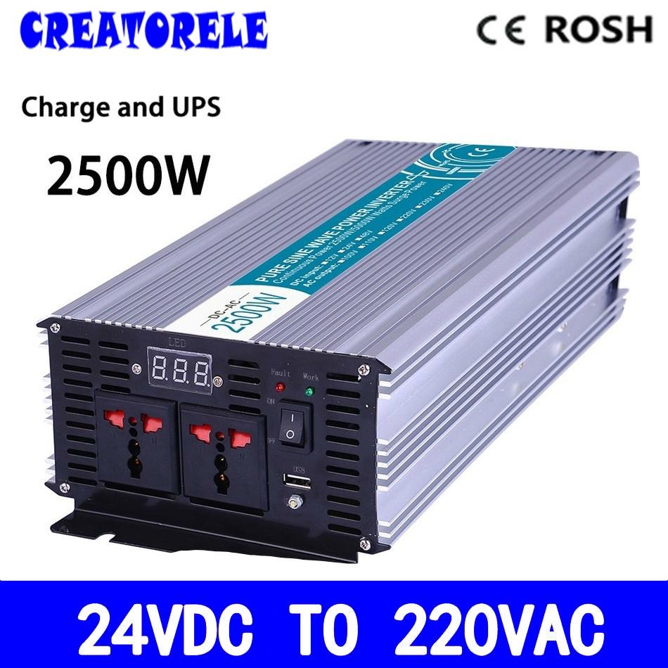 27000 Buy Now P2500 242 C 2500w Pure Sine Wave Ups Iverter 24v Regulated 220vac To 24vdc Power Supply Using Voltage Regulator High Quality Off Grid Inverter Convertersolar Led Displa