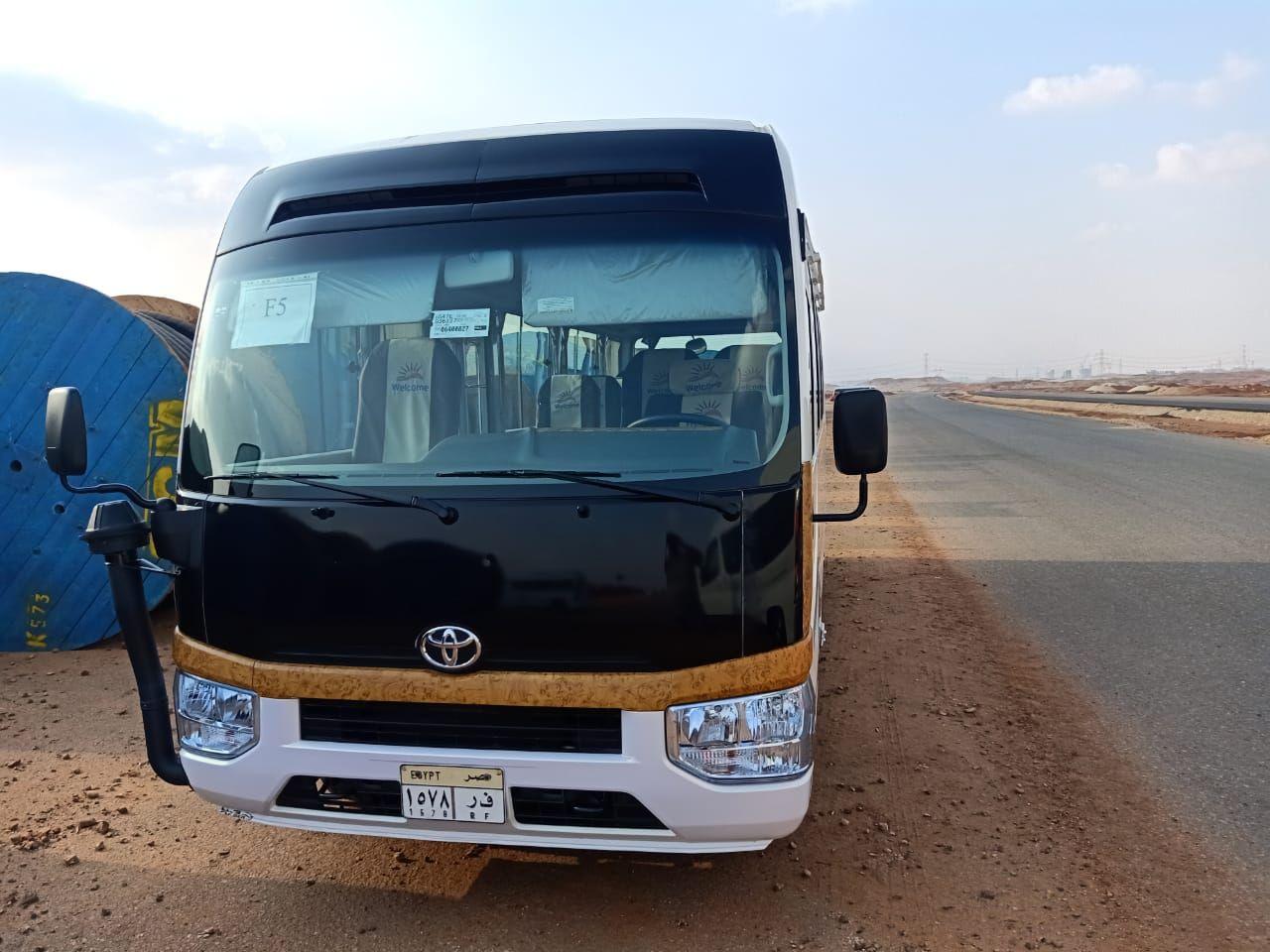 ايجار تويوتا كوستر 2020 01003203210 Vehicles Bus