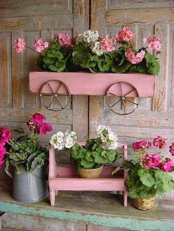 How To Make Wonderful Vintage Gardens With Old, Recycled Objects #gartenrecycling
