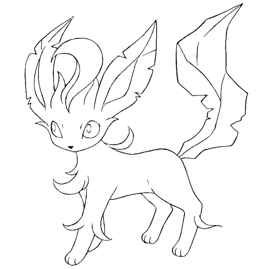 Leafeon Coloring Page Pokemon Coloring Pokemon Coloring Pages Cool Coloring Pages