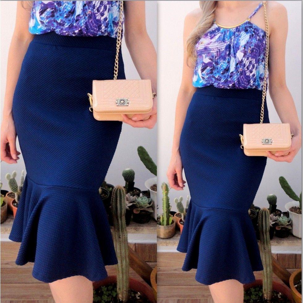 8e220bf97d comprar blazer azul royal - Pesquisa Google Traje De Falda