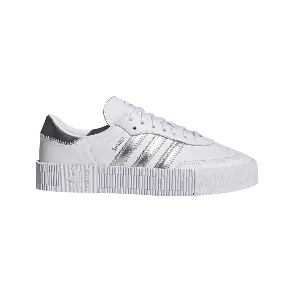 Detalles de adidas Sambarose W Zapatillas Blanco Mujer (With ...