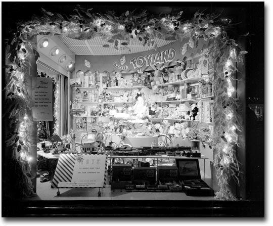 Eatons Window Display Vintage Department Store Toy Train Memories
