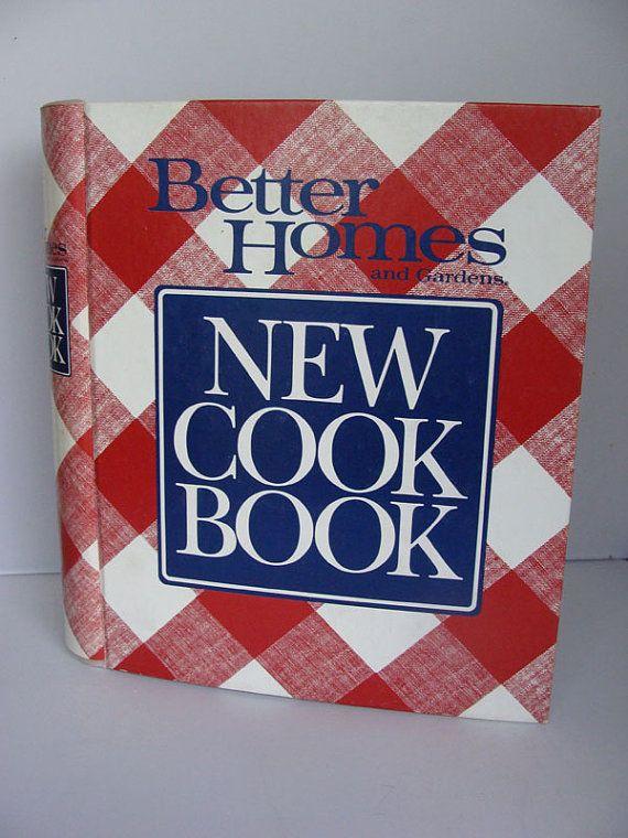 better homes cookbook vintage binder better homes new cookbook