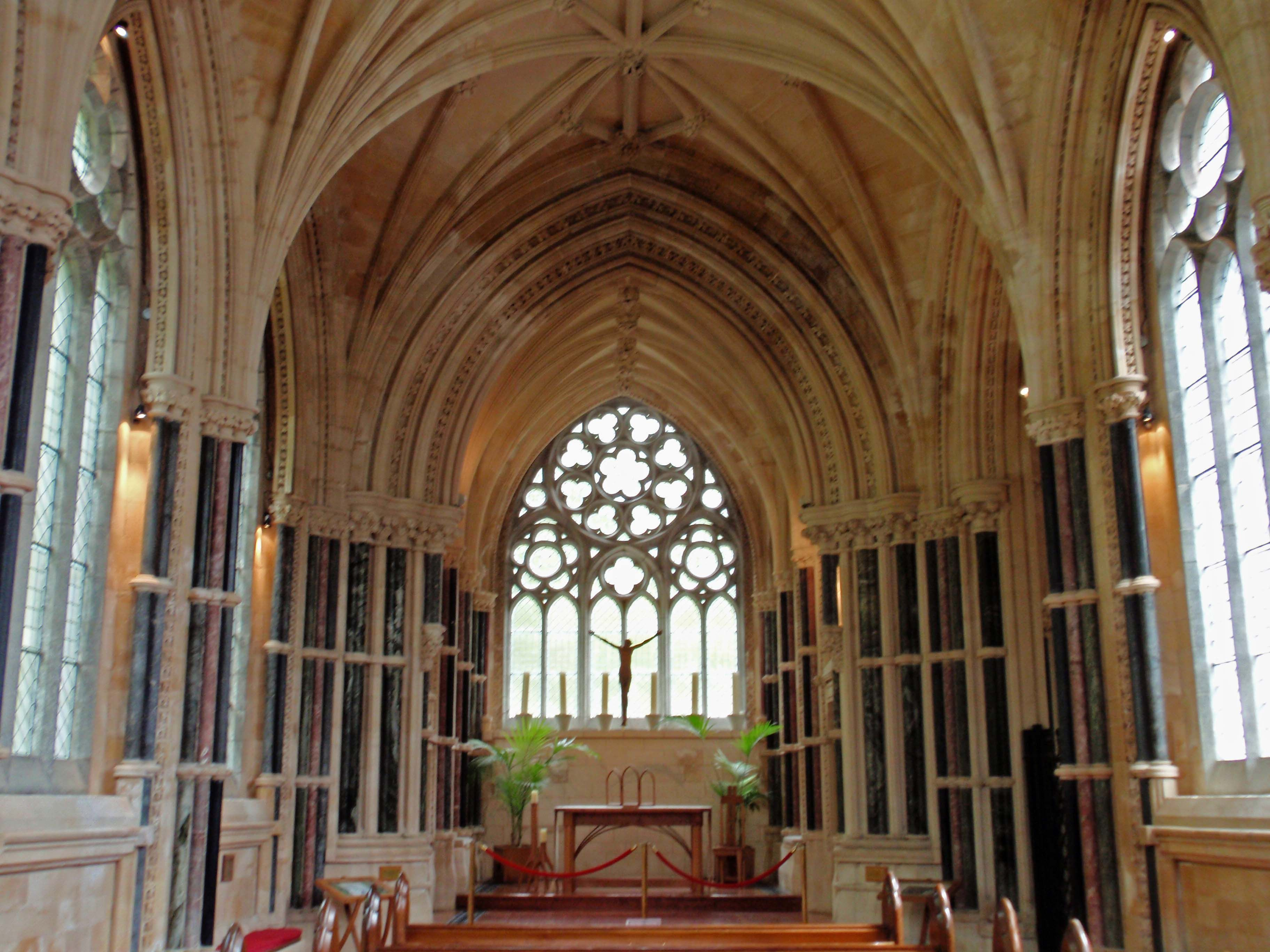 inside Gothic church | Churches and Castels | Pinterest