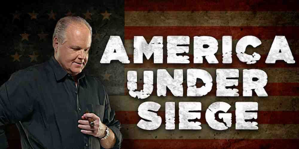 """Top News: """"USA POLITICS: America Under Attack from Within: Rush Limbaugh"""" - https://i0.wp.com/politicoscope.com/wp-content/uploads/2017/08/USA-POLITICS-Rush-Limbaugh.jpg?fit=1000%2C500 - """"That's what we are in the midst of here: An ongoing effort to erase America by discrediting the entire premise of our culture, our history, our founding. The objective is to create in as many American minds as possible that America as founded is not worth defending. Serious times. This is"""