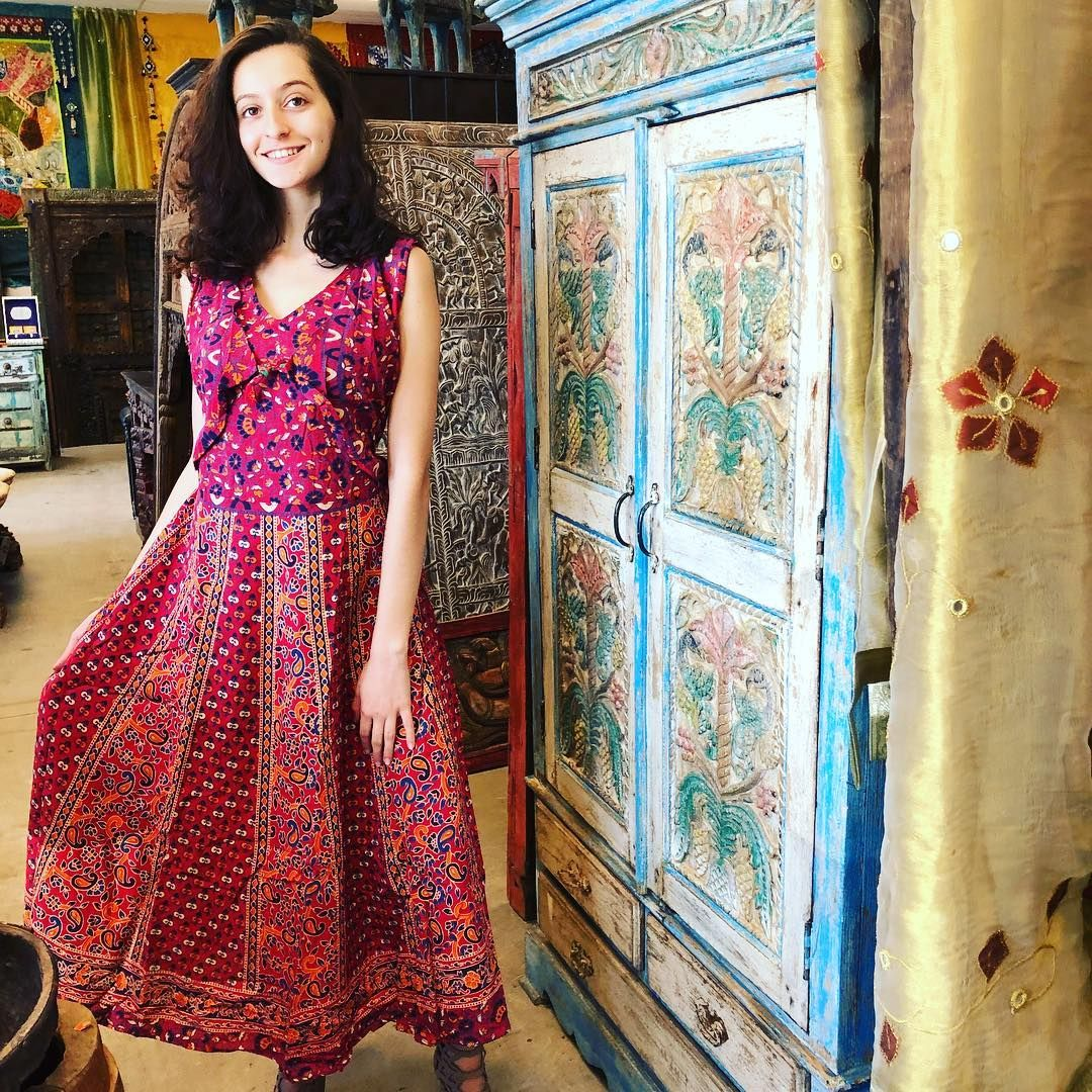 Boho Chic Styel Freespirit Sundress Maxi Dress Cotton Bohemian Cotton Dresses Floral Maxi Dress [ 1080 x 1080 Pixel ]