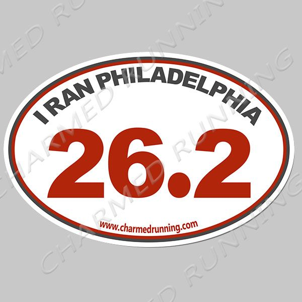 0.0 I Don/'t Run Oval Half Full Marathon Label Vinyl Decal Sticker *5 Sizes*