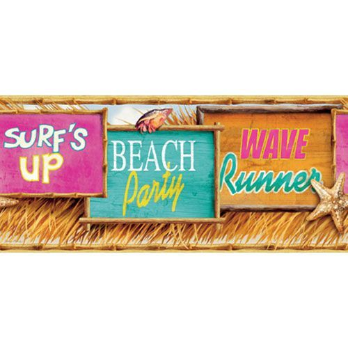 Mural Portfolio II Surfing Signs Border Tropical
