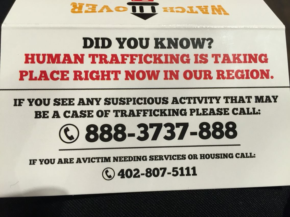 Resource Of How To Report If You Suspect Human Trafficking