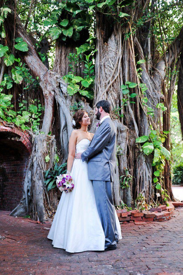 Wedding At Key West Garden Club Modern Vintage Weddings