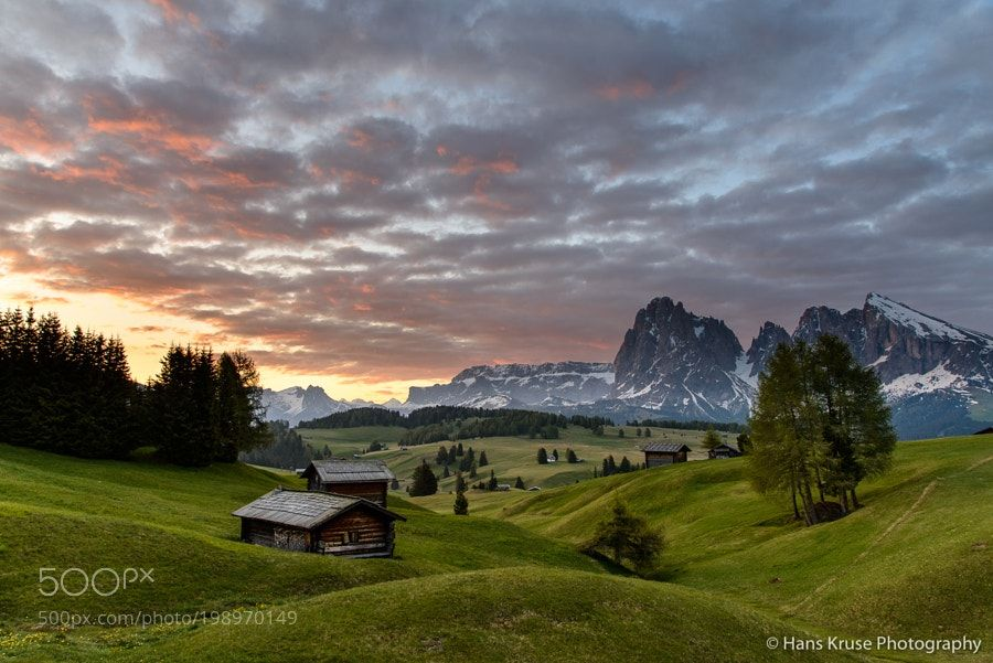 Morning in Alpe di Siusi/Seiser Alm by hanskrusephotography #Landscapes #Landscapephotography #Nature #Travel #photography #pictureoftheday #photooftheday #photooftheweek #trending #trendingnow #picoftheday #picoftheweek