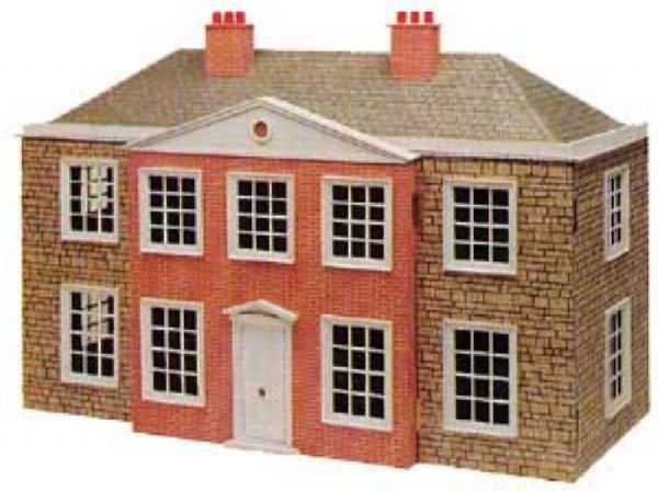 The regency dolls house plan in 1 12th scale hobbies for Regency house plans