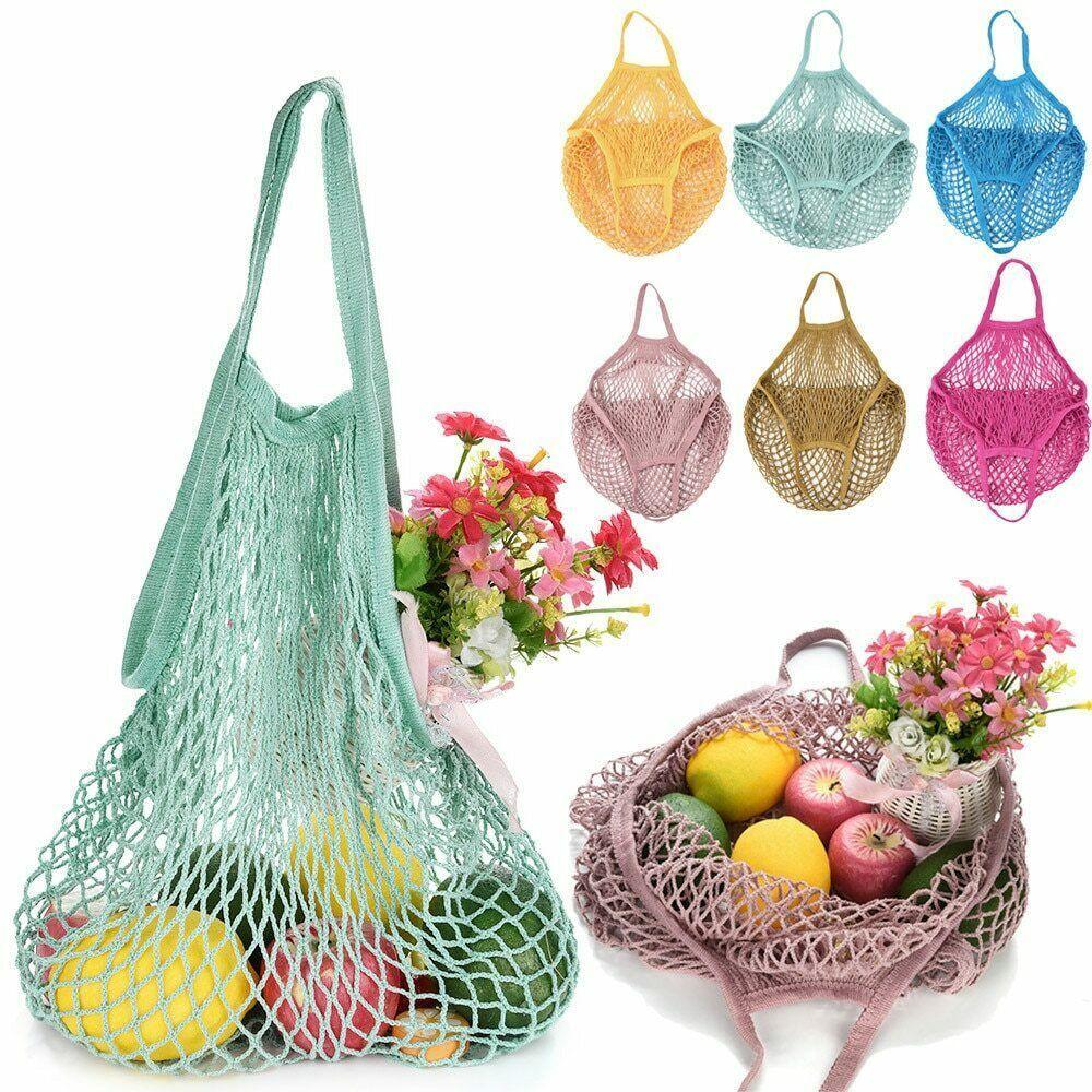 Reusable Foldable Shopping Bags Waterproof Eco Travel Handbag Tote Fruit Shape