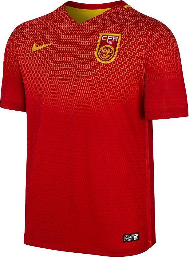 Nike divulga as novas camisas da China - Show de Camisas  8af98c14e7656