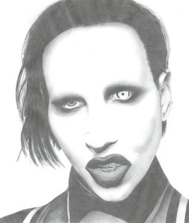 Marilyn Manson by littlemeli