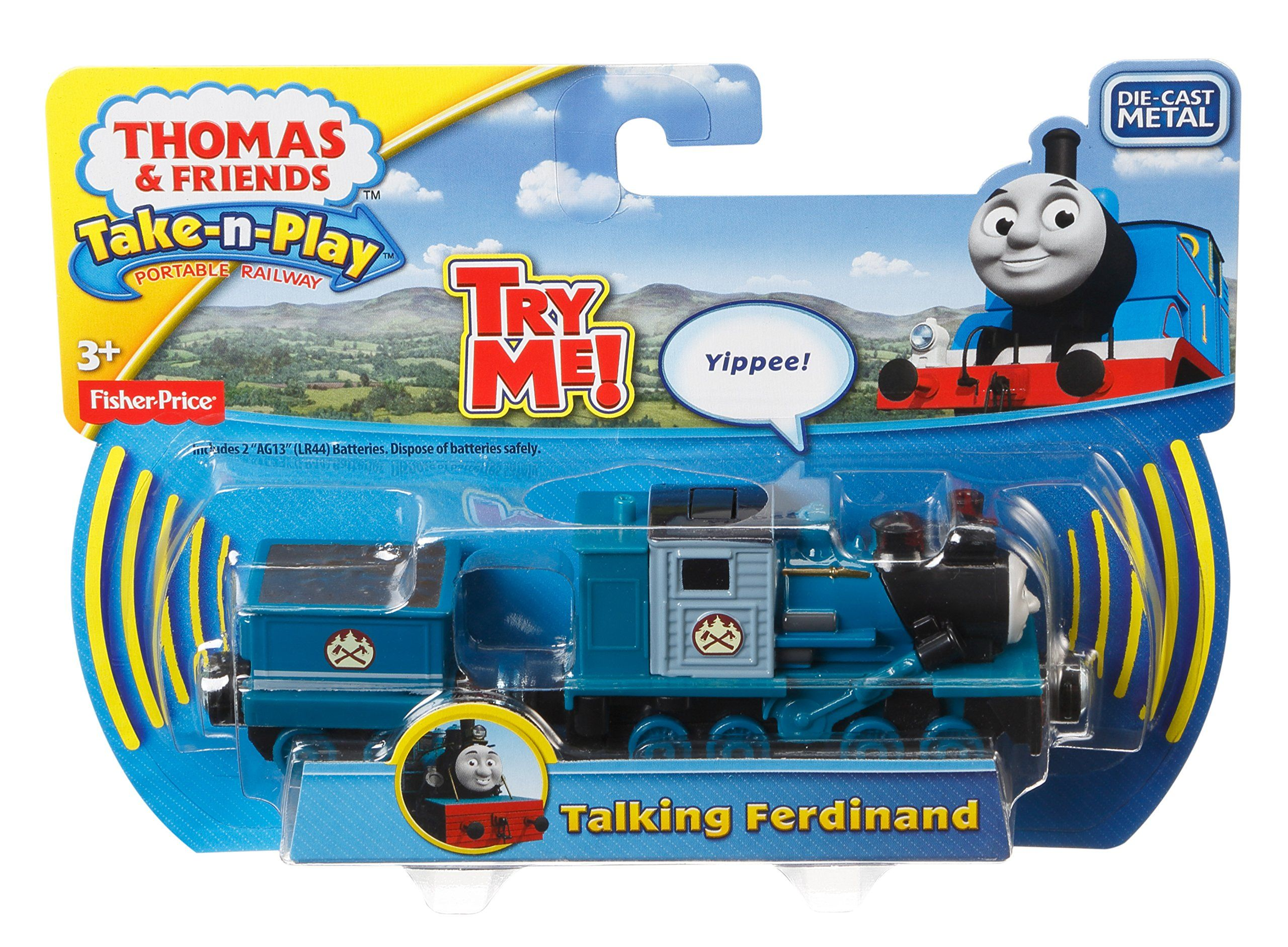 Fisher-Price Thomas & Friends Take-n-Play Talking Ferdinand Toy ...