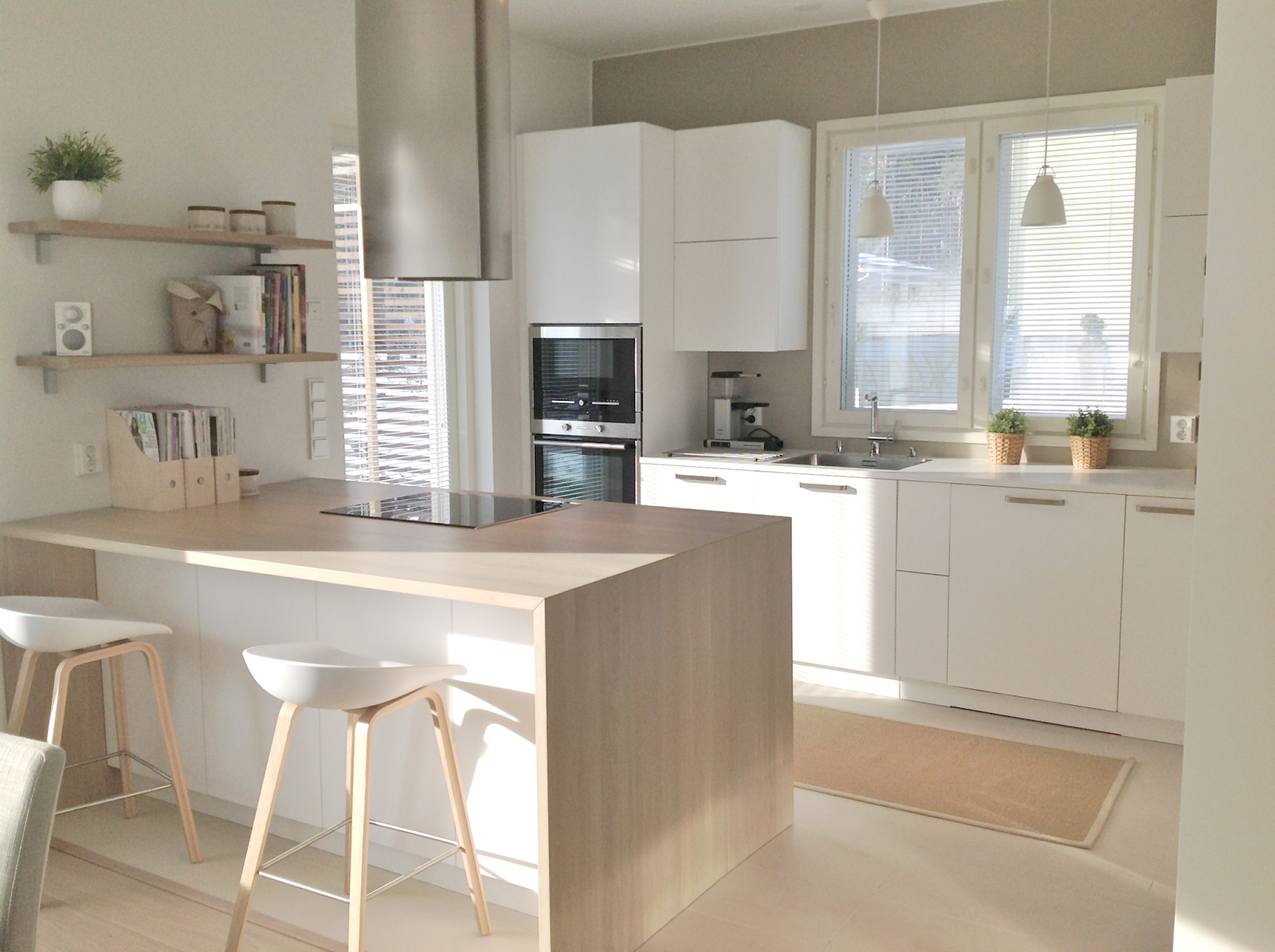 keittiön saareke, keittiön niemeke, keittiön suunnittelu, avokeittiö, seurust