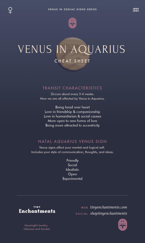 Venus Transit in Aquarius - 06 February