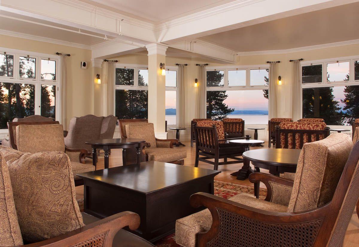 Lake Yellowstone Hotel Cabins National Park
