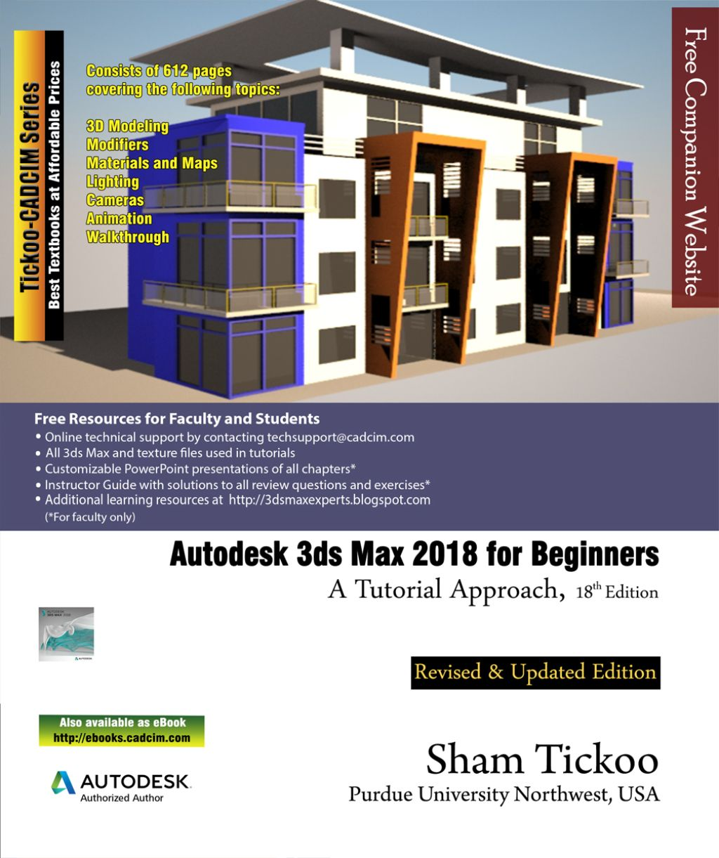Autodesk 3ds Max 2018 for Novices Learn By Doing