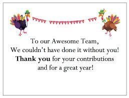 Image result for thanksgiving message to employees Image result for thanksgiving message to employees