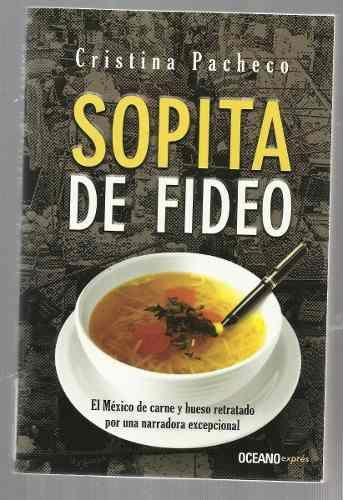 SOPITA DE FIDEO CRISTINA PACHECO PDF