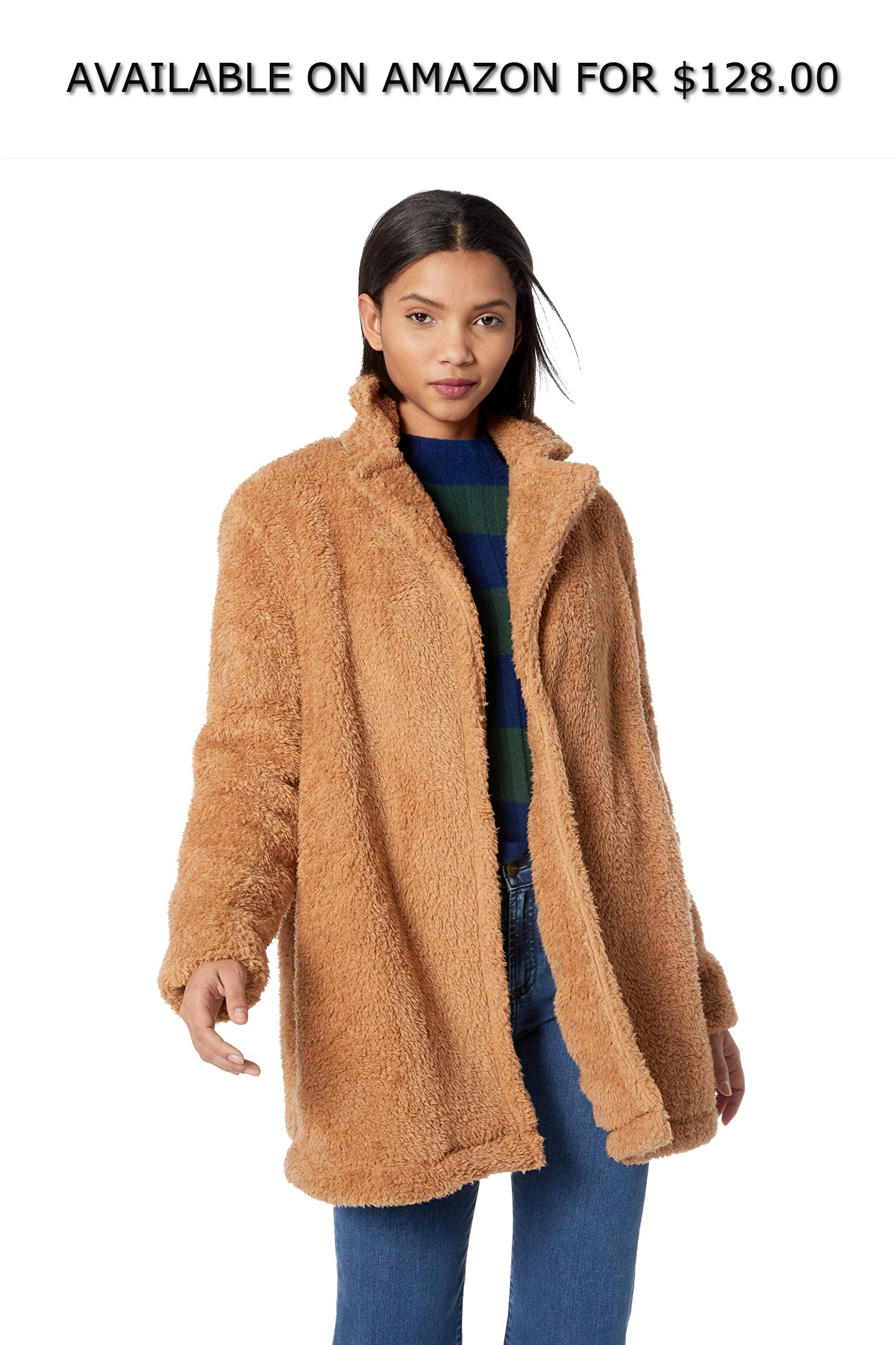 ca5189f0a10 The Fifth Label Women's Paige Teddy Soft Faux Fur Coat ◇ AVAILABLE ON  AMAZON FOR: